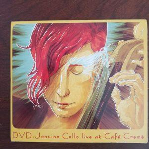 Live at Cafe Creme CD Art